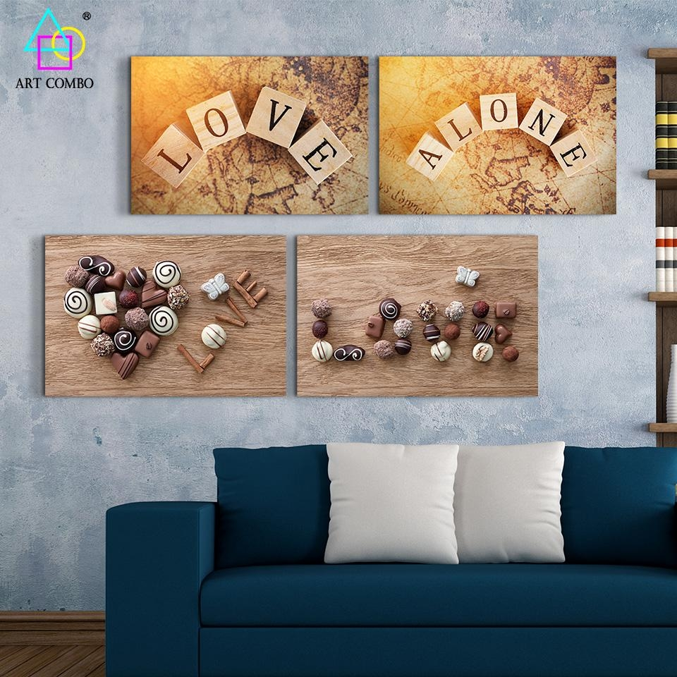 Compare Prices On Wood Word Wall Art  Online Shopping/buy Low With Regard To Wood Word Wall Art (Image 2 of 20)