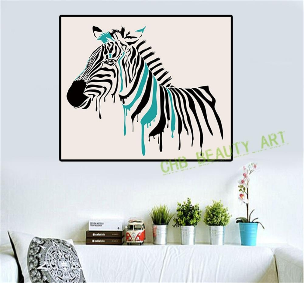 Compare Prices On Zebra Artwork  Online Shopping/buy Low Price Within Zebra Wall Art Canvas (Image 3 of 20)