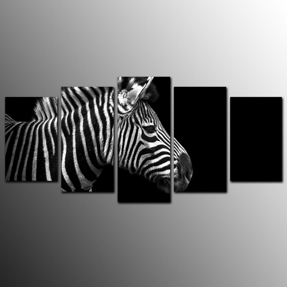 Compare Prices On Zebra Wall Art  Online Shopping/buy Low Price With Regard To Zebra Wall Art Canvas (Image 5 of 20)