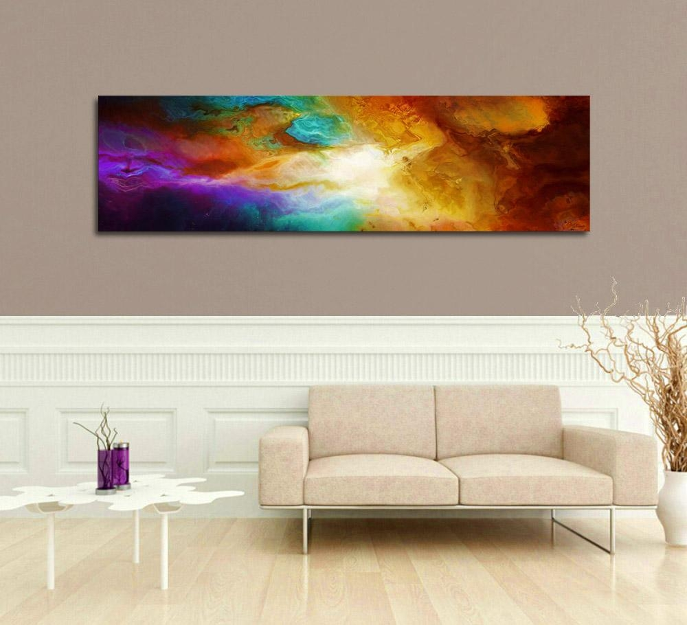 """Contemporary Abstract Art For Sale – """"becoming"""" – Throughout Oversized Abstract Wall Art (Image 8 of 20)"""