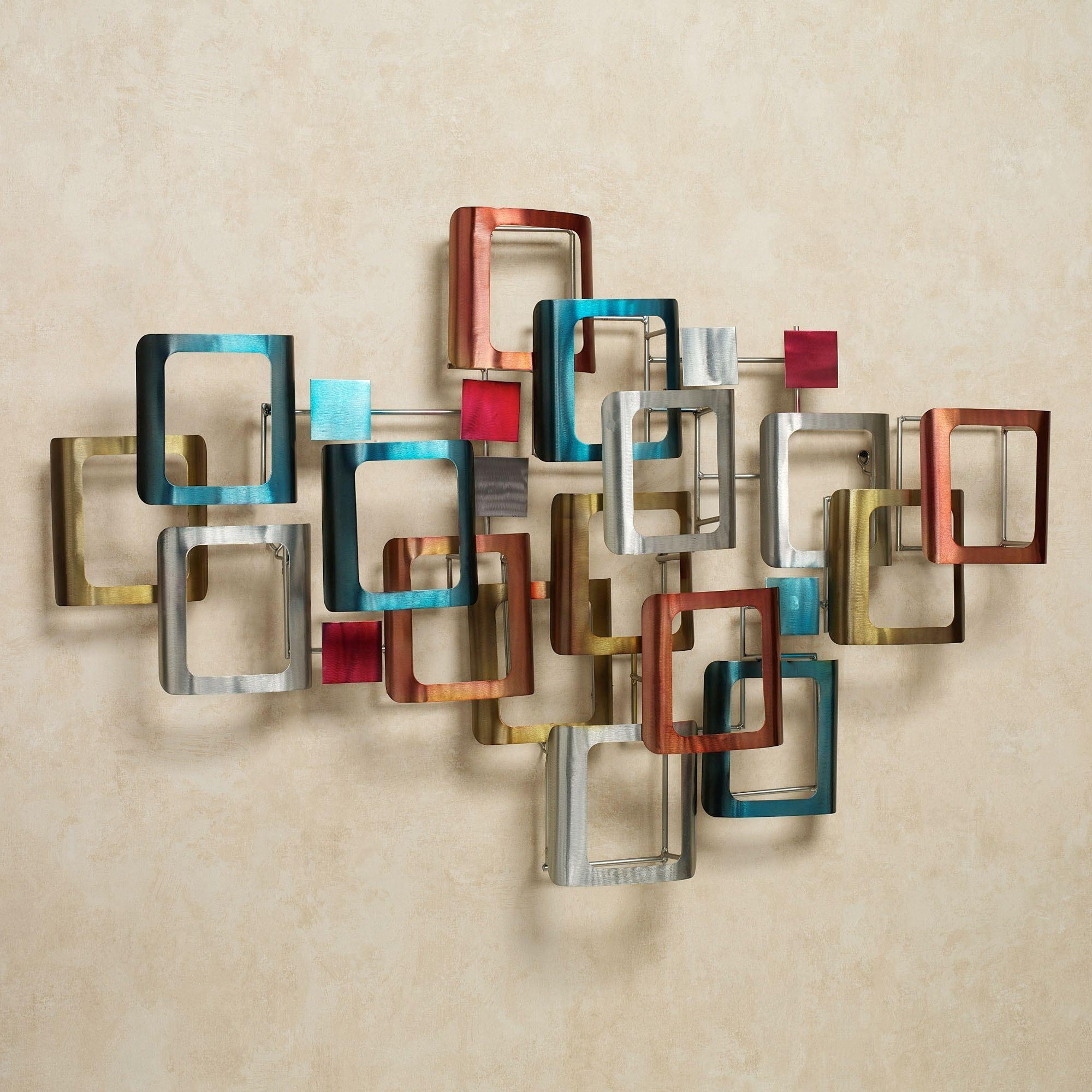 Contemporary Metal Wall Art Sculptures | Touch Of Class Pertaining To Jeweled Metal Wall Art (Image 3 of 20)