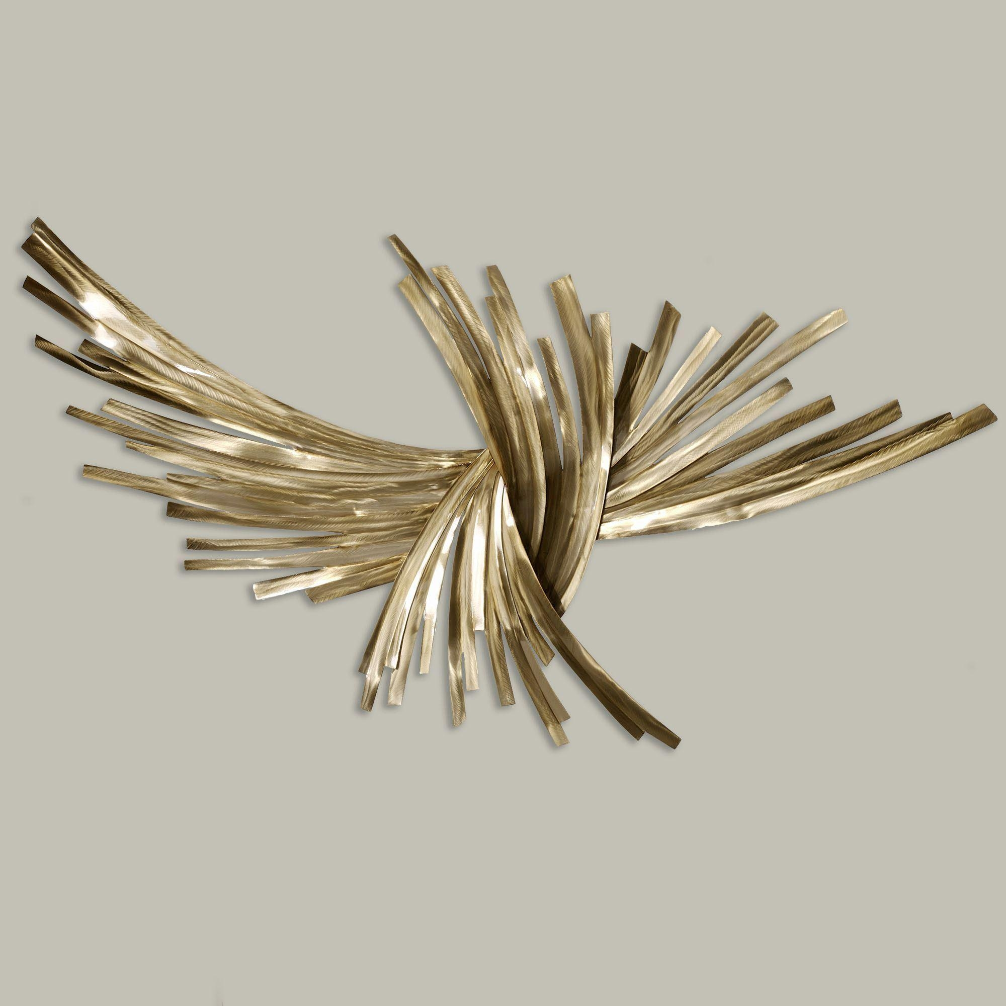 Contemporary Metal Wall Art Sculptures | Touch Of Class Regarding Contemporary Metal Wall Art Sculpture (Image 2 of 20)