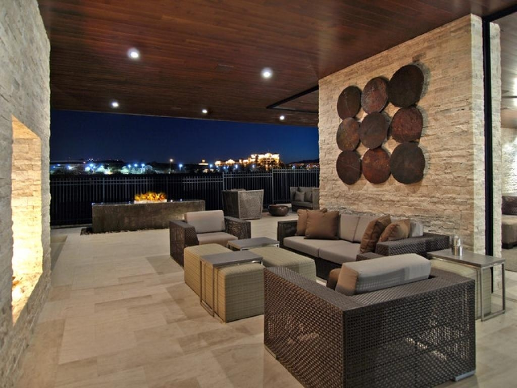 Contemporary Outdoor Wall Art | Home Interior Decorating Ideas Regarding Contemporary Outdoor Wall Art (Image 3 of 20)