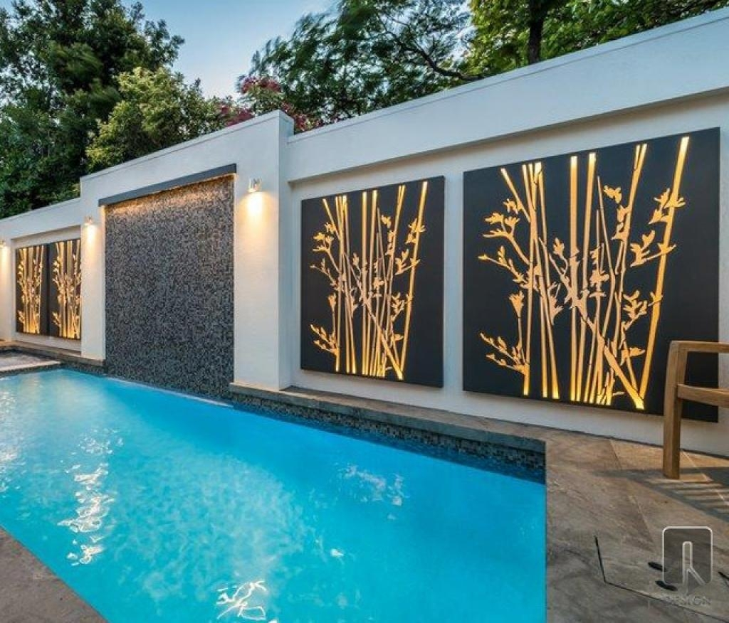 Contemporary Outdoor Wall Art Modern Outdoor Wall Decor Five Best Inside Modern Outdoor Wall Art (Image 6 of 20)