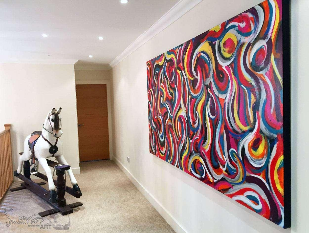 Contemporary Wall Art Canvas Perfect Home Design Throughout Oversized Modern Wall Art (View 5 of 20)