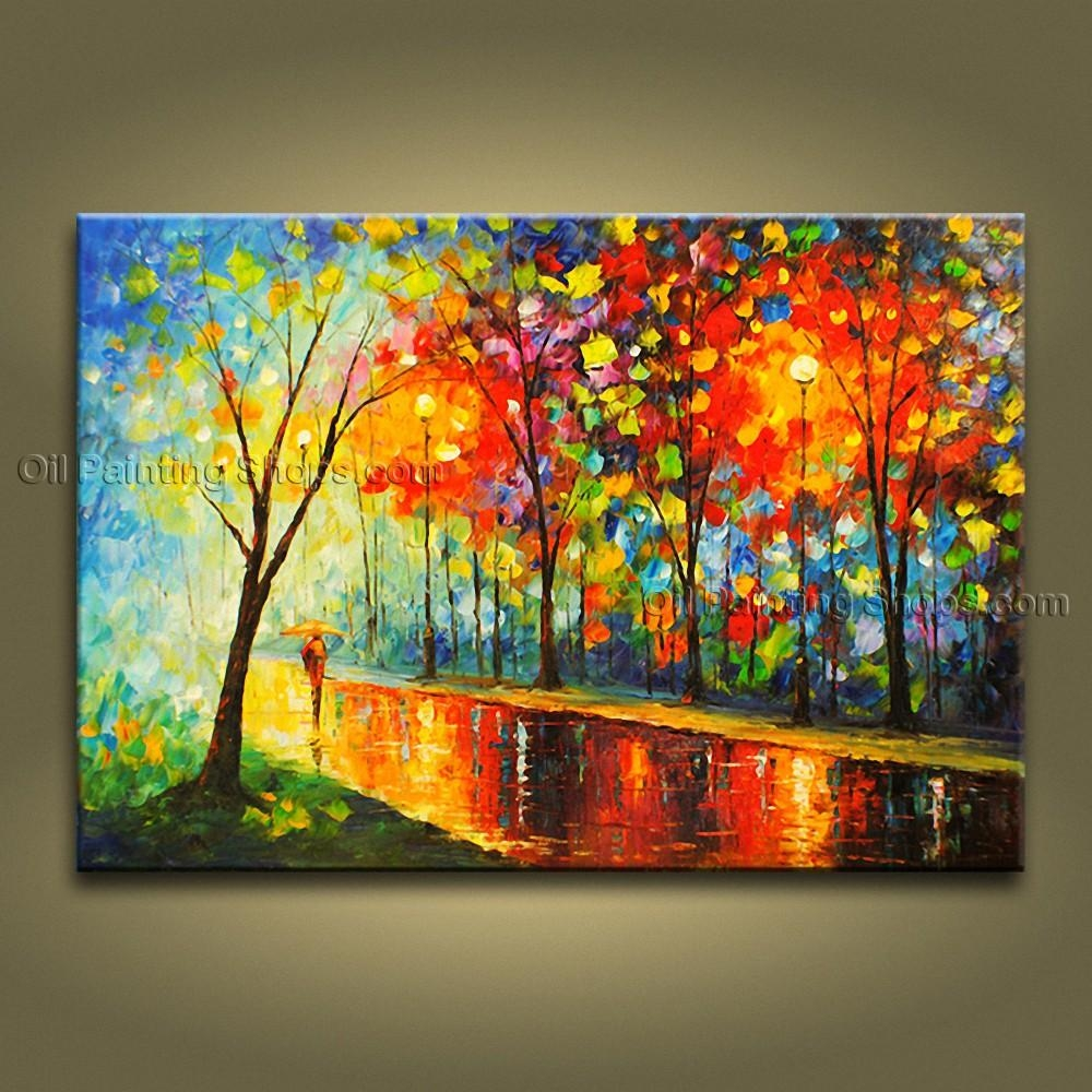 Contemporary Wall Art Landscape Park Contemporary Decor With Contemporary Wall Art (View 3 of 20)