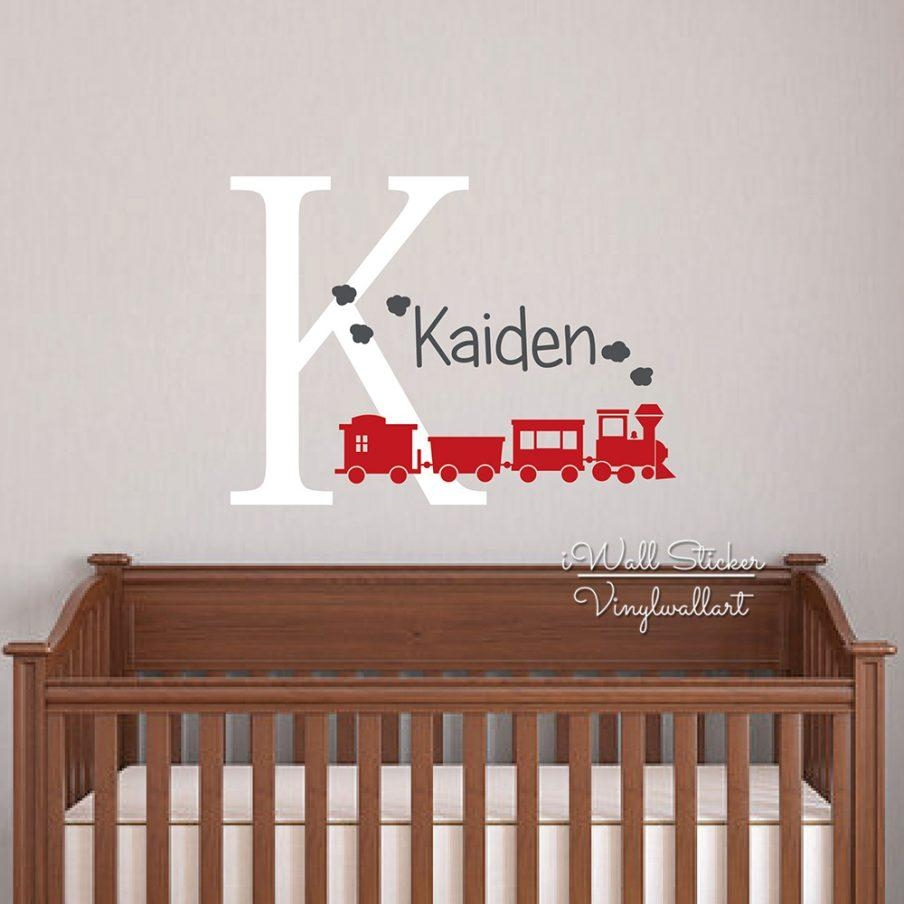 Cool Last Name Wall Decor Baby Nursery Name Wall Custom Name Wall In Personalized Last Name Wall Art (View 18 of 20)