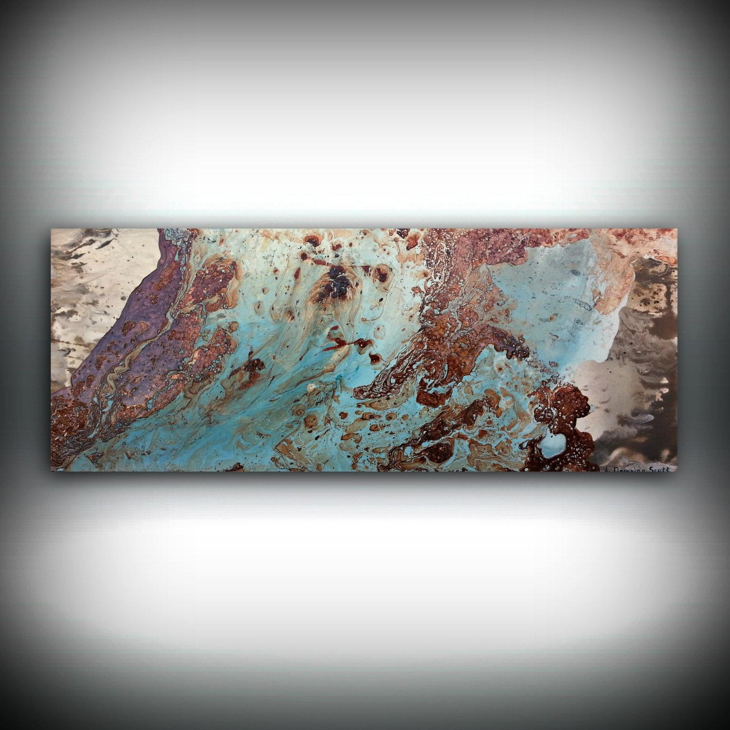 Copper Paintings – L Dawning Scott Fine Art In Large Copper Wall Art (Image 3 of 20)