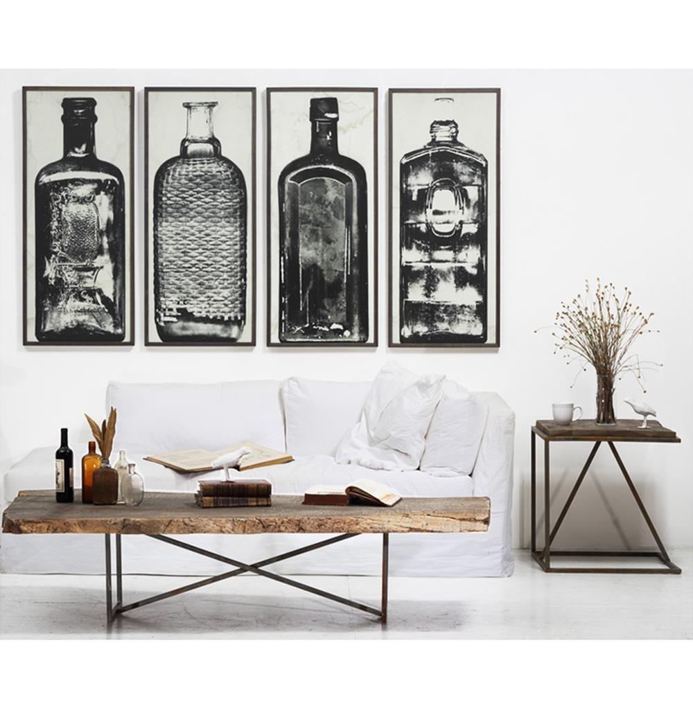 Lovely Copper River Industrial Loft Bottle Black White Photo Wall Art U2013 B In Industrial  Wall Art