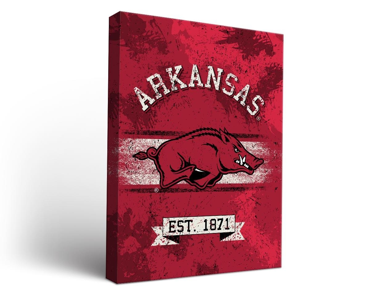 Cornhole Boards & Tailgate Games | Victory Tailgate With Regard To Razorback Wall Art (View 9 of 20)