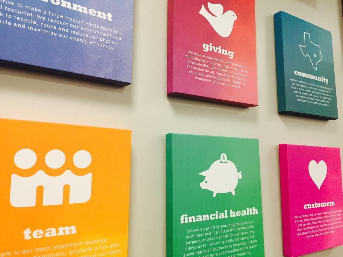 Corporate Art Spotlight: Canvas Print Ideas For Your Company Walls In Corporate Wall Art (Image 4 of 20)