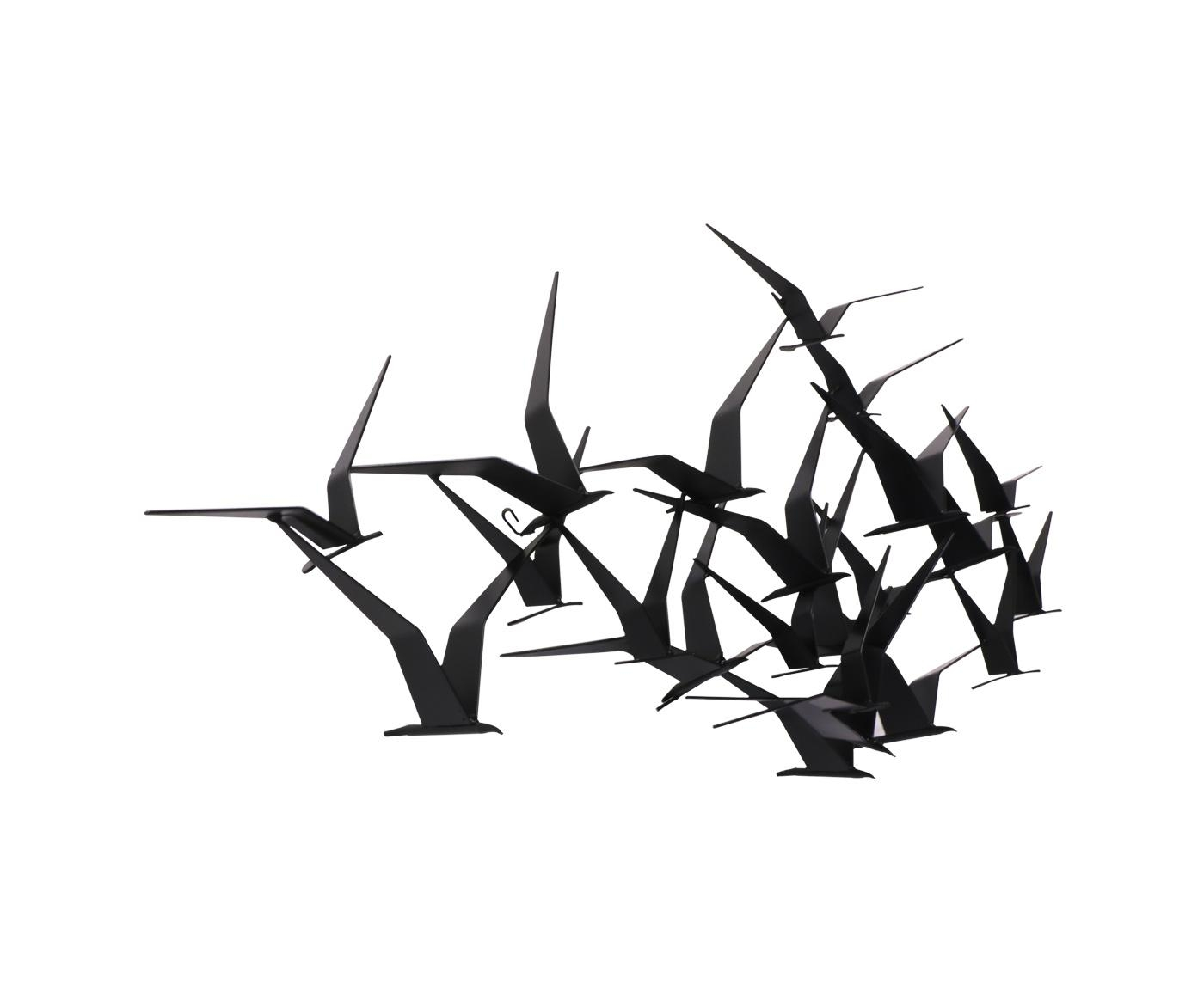 "Curtis Jere ""Flock Of Birds"" Wall Art Sculpture For Artisan House For Flock Of Birds Wall Art (Image 5 of 20)"