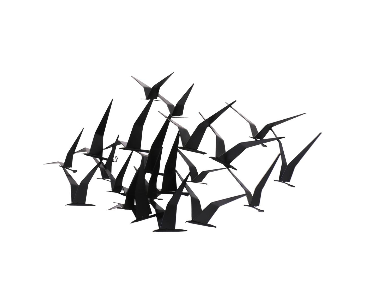 "Curtis Jere ""Flock Of Birds"" Wall Art Sculpture For Artisan House Pertaining To Flock Of Birds Wall Art (Image 6 of 20)"