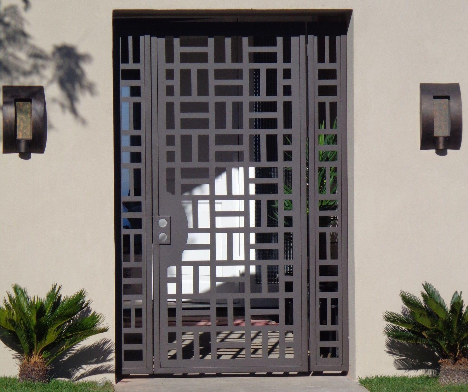Custom Gates And Fences | Custommade Within Mexican Metal Yard Wall Art (Image 7 of 20)