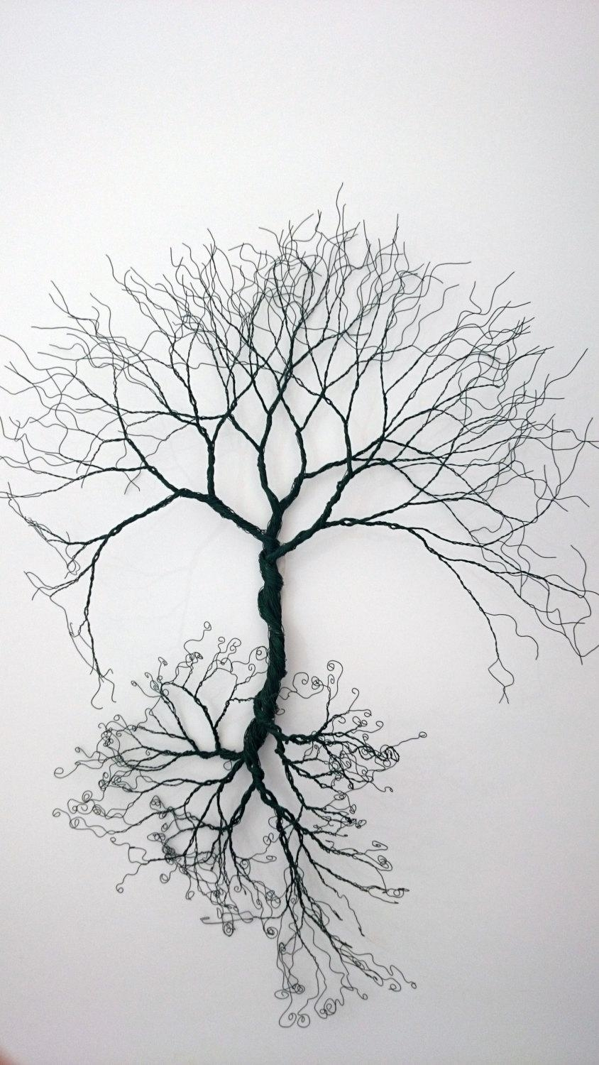 Incroyable Custom Made Wire Wall Art Tree Of Life Wall Decoration Wire Regarding Wire  Wall Art Decors