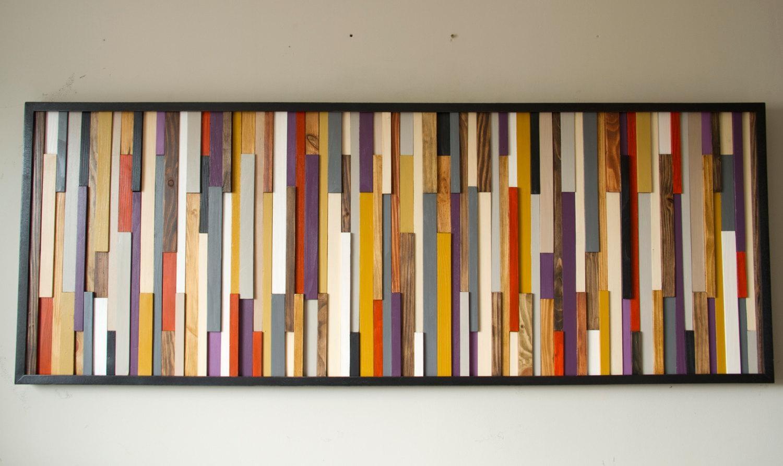 Custom Wood Wall Art Sculpture – Deposit – Art Glamour Regarding Aubergine Wall Art (View 6 of 20)