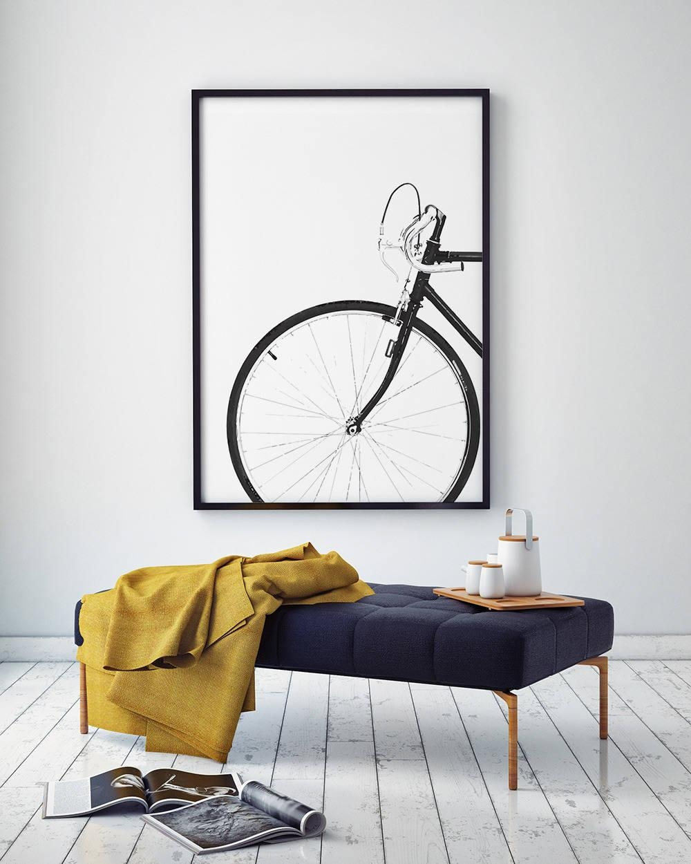 Cycling Poster, Bicycle Poster, Bike Print, Bicycle Wall Art Pertaining To Cycling Wall Art (Image 7 of 20)