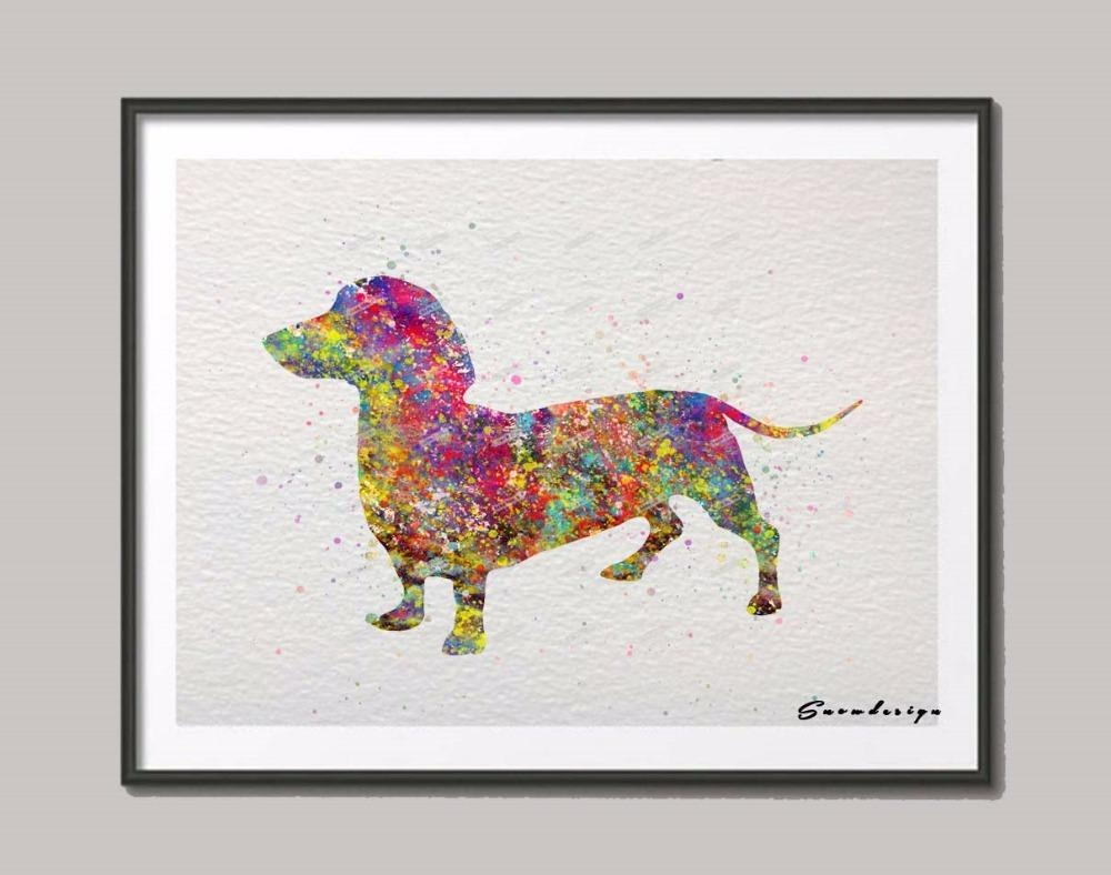 Dachshund Wall Art Reviews – Online Shopping Dachshund Wall Art For Dachshund Wall Art (Photo 1 of 20)
