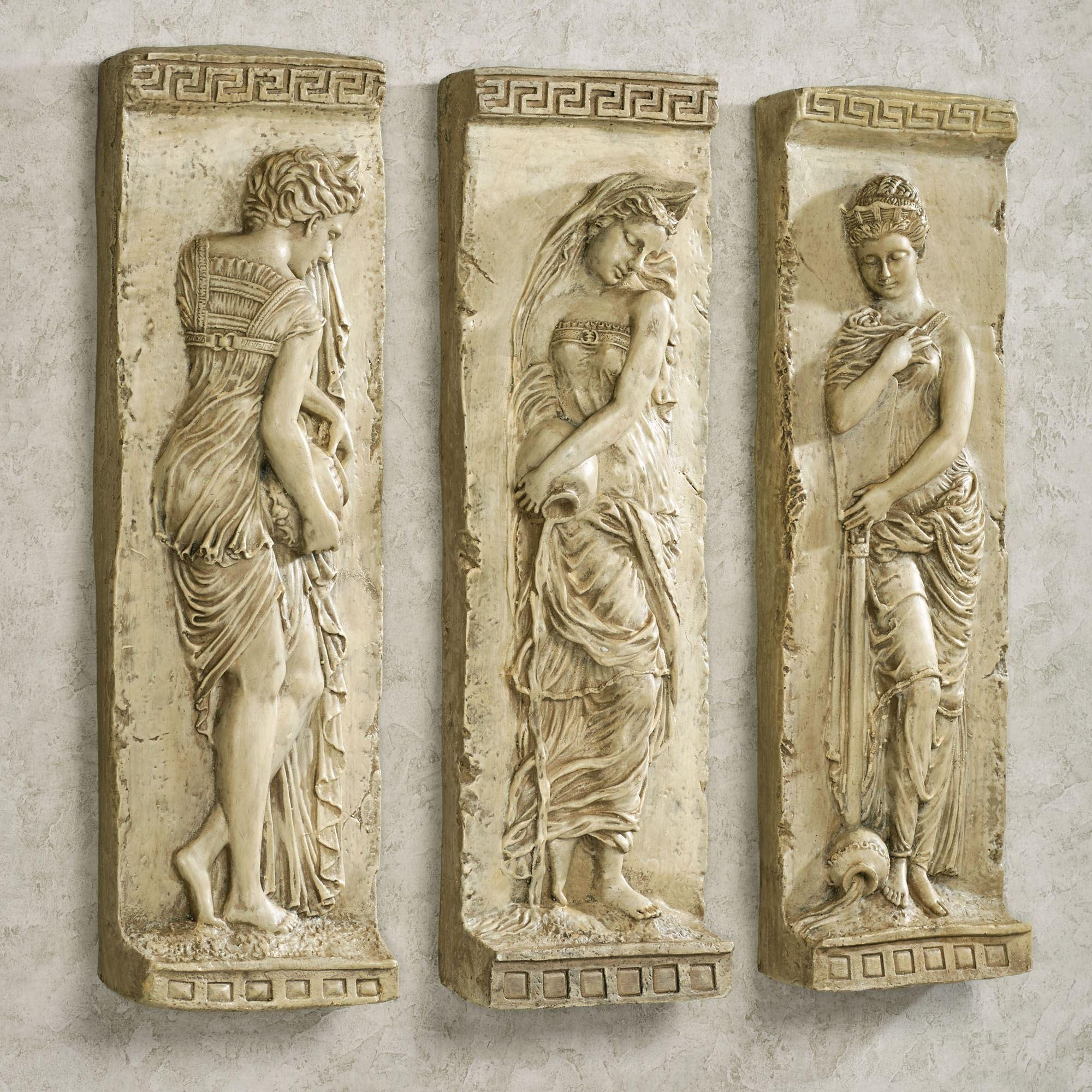 Danaides Of Argos Ii Wall Art Set With Greek Wall Art (Image 7 of 20)