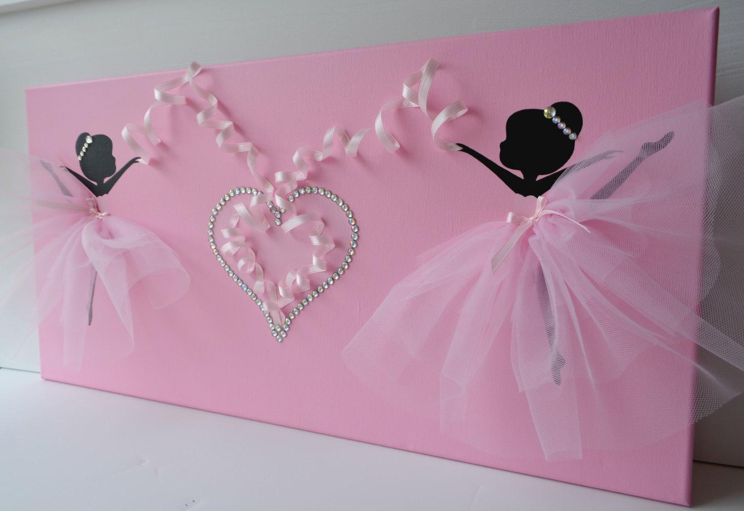Dancing Ballerinas Wall Decor (View 7 of 20)