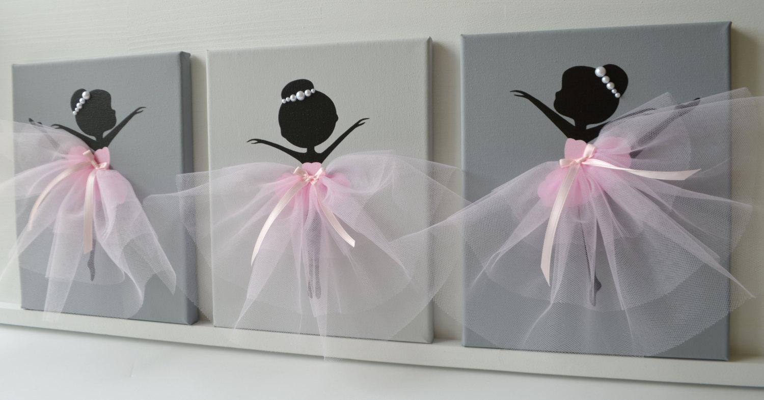 Dancing Ballerinas Wall Decor (View 16 of 20)