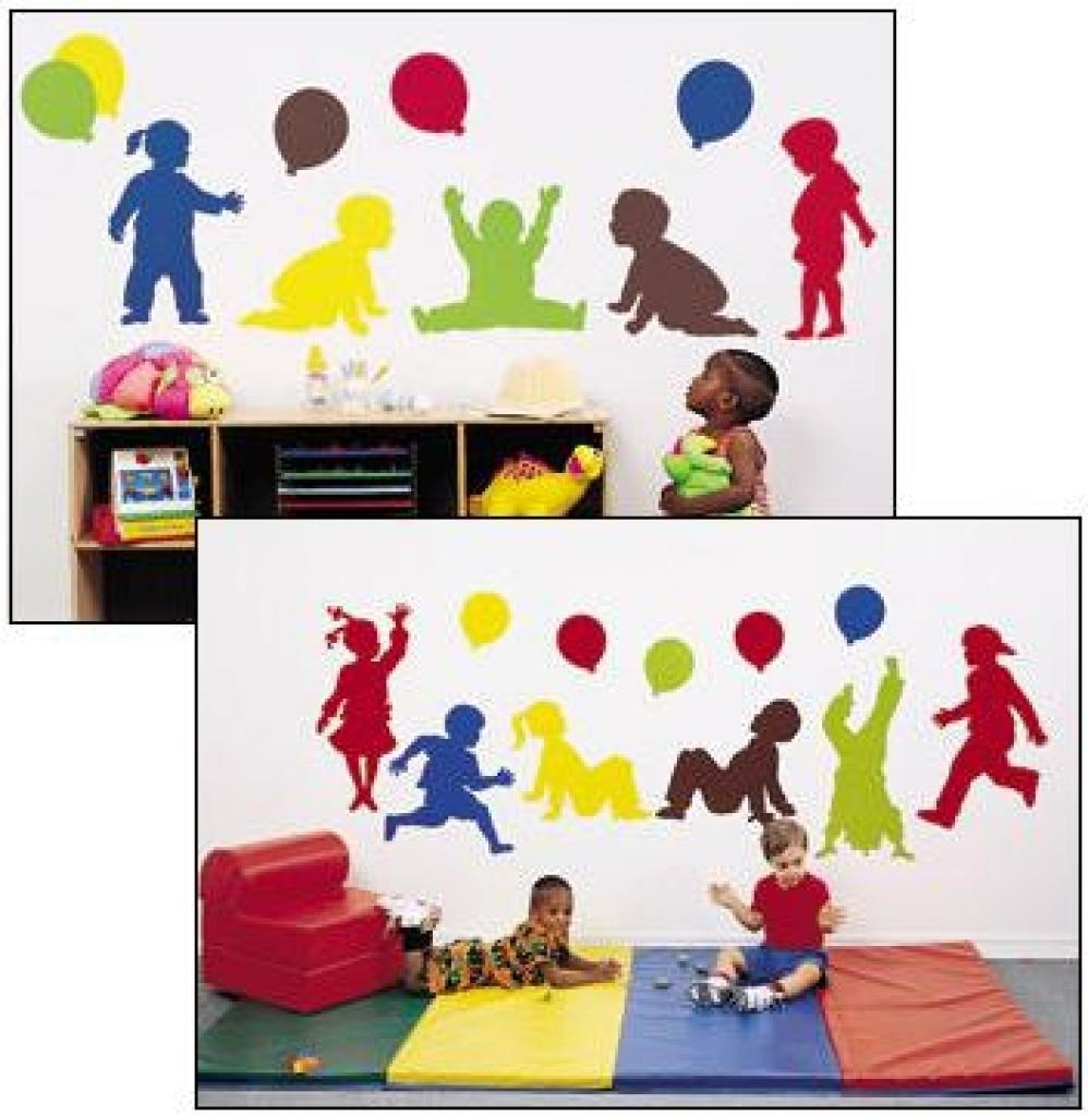 Daycare Decor, Decorating, Vinyl Wall Murals, Preschool Wall Within Preschool Wall Decoration (View 4 of 20)