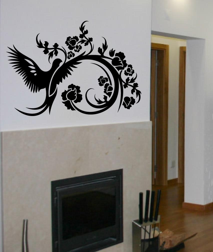 Decalsdigiflare : Wall Decal Big Topiary Tree Deco Art Sticker With Regard To Topiary Wall Art (Image 8 of 20)
