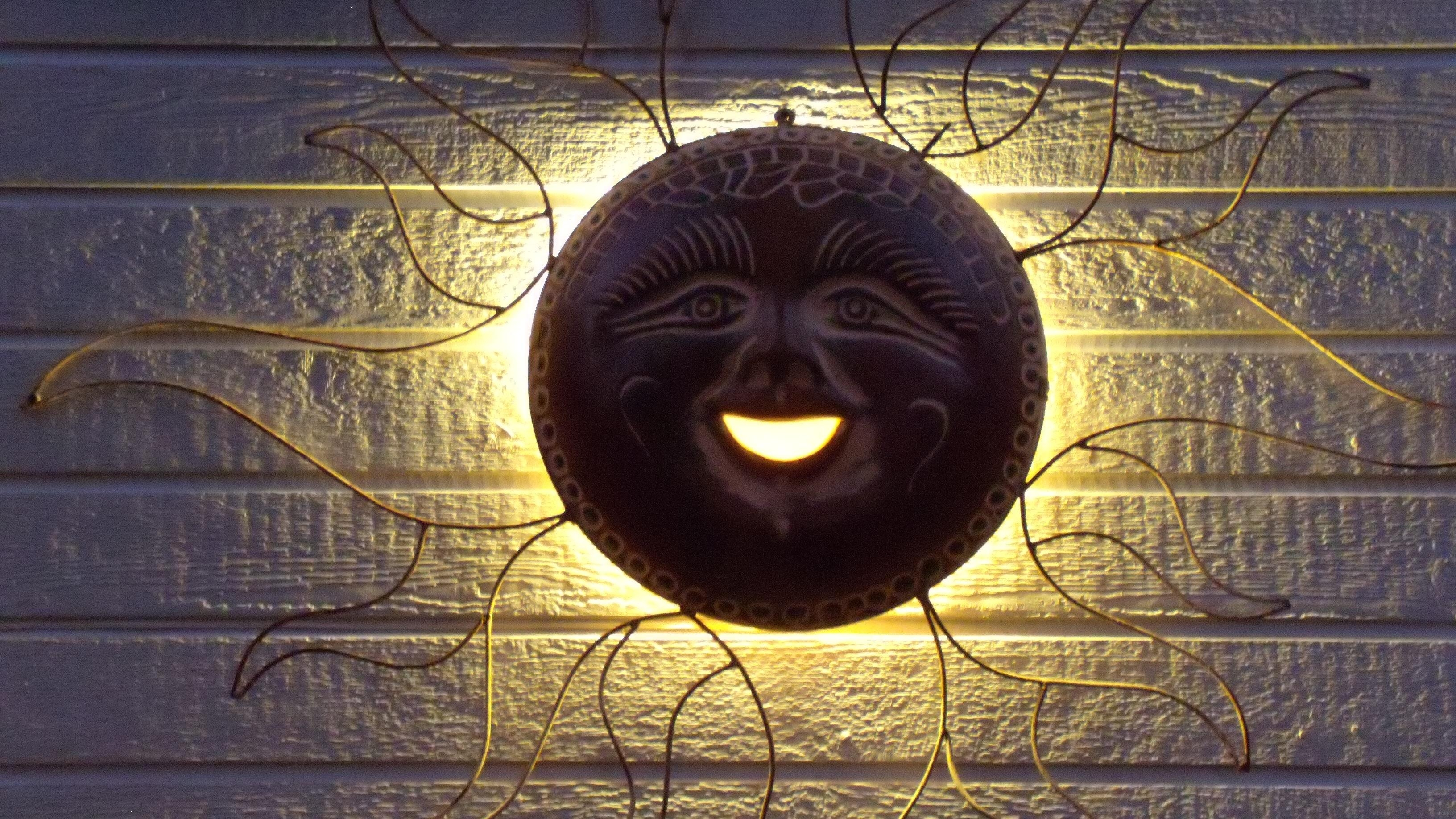 Deck Lighting | Outdoor Lighting Perspectives Of Birmingham Blog Throughout Copper Outdoor Wall Art (Image 8 of 20)