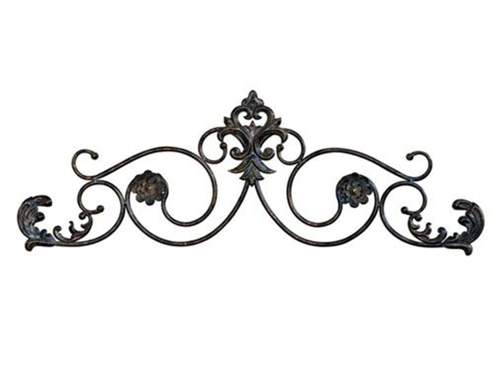 Decor : 40 Home Decor With Wrought Iron Wall Art Tuscan Decor Regarding Tuscan Wrought Iron Wall Art (Image 3 of 20)