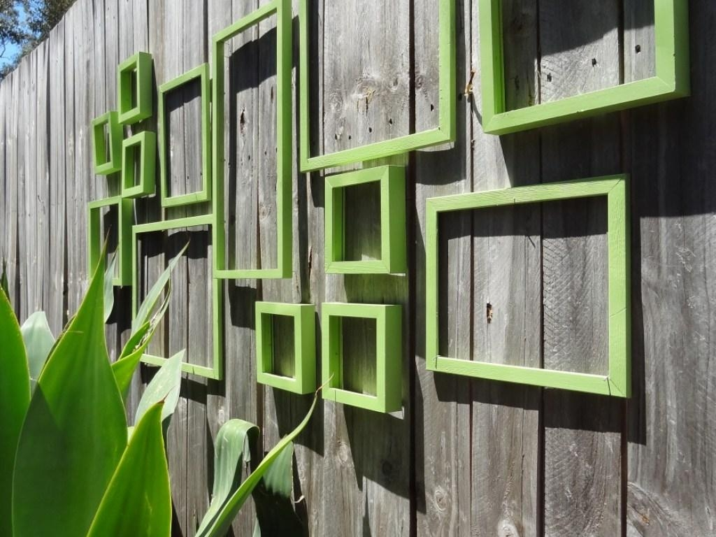 Decor : 53 Quirky Modern Outdoor Wall Art Can Be Decor With Warm Intended For Modern Outdoor Wall Art (Image 12 of 20)
