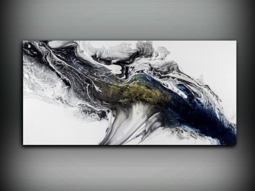 Decor : 67 Water Abstract Oil Painting Canvas Large Horizontal With Regard To Large Horizontal Wall Art (View 11 of 20)