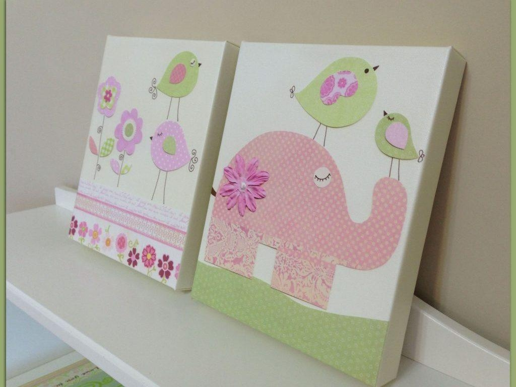 Decor : 72 Elephant Nursery Wall Art Canvas Sample Wallpaper Great Within Canvas Prints For Baby Nursery (Image 12 of 20)