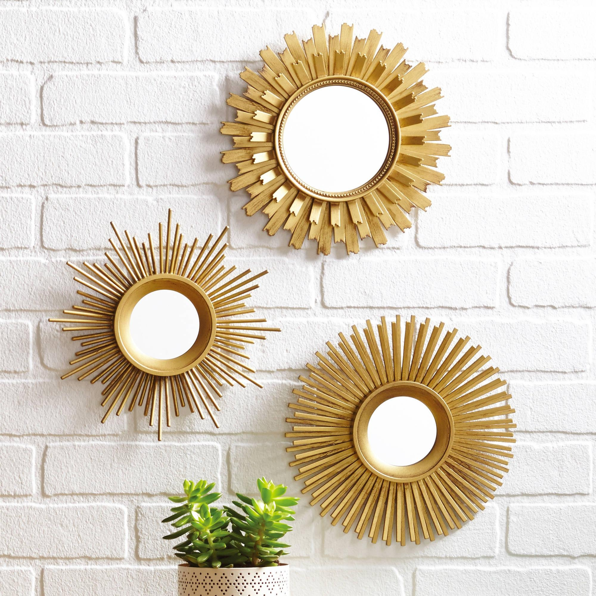 Decor : 84 Home Decoration With Mirrors 21156245 Beautify Your Regarding Small Round Mirrors Wall Art (View 8 of 20)