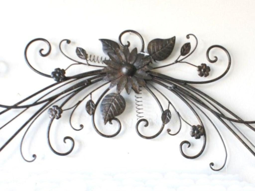 Decor : 95 Home Decor With Wrought Iron Wall Art Filigree Wall Art Regarding Filigree Wall Art (Image 7 of 20)