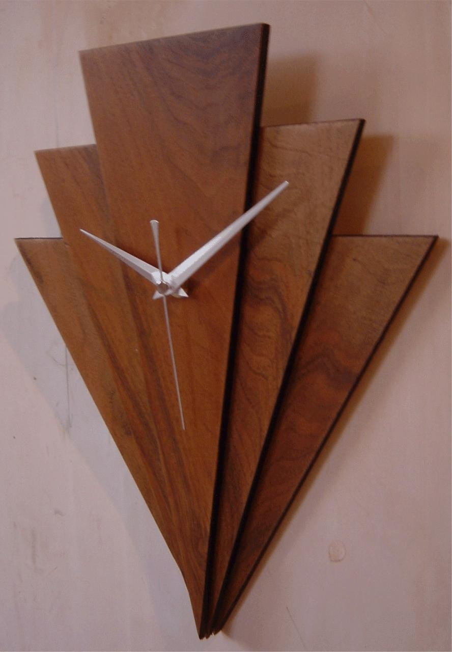 20 best ideas art deco wall clocks wall art ideas