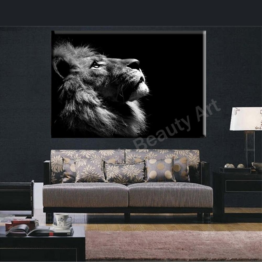Featured Photo of Lion Wall Art