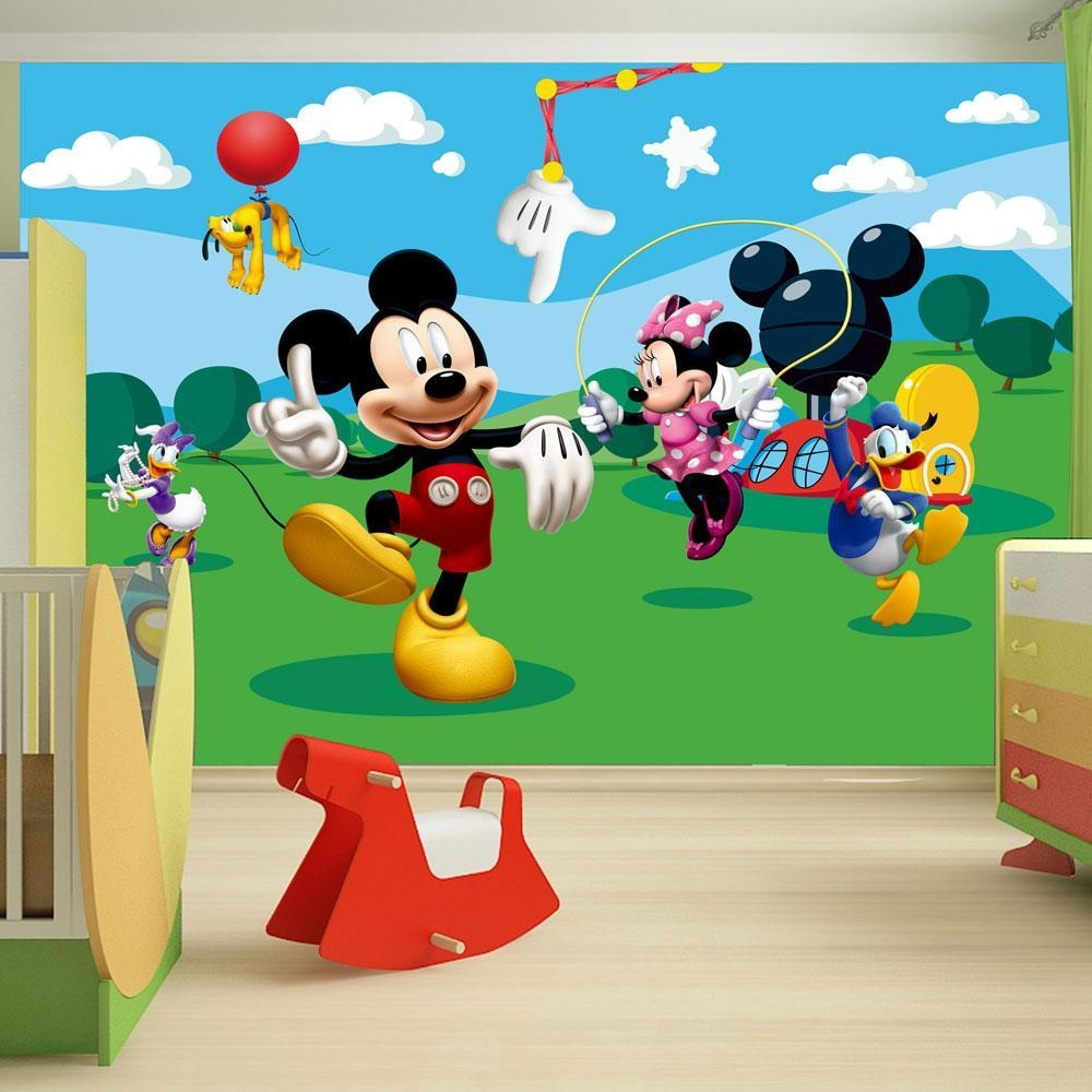 Decoration Mickey Mouse Clubhouse Wall Decals Home Decor Ideas Inside