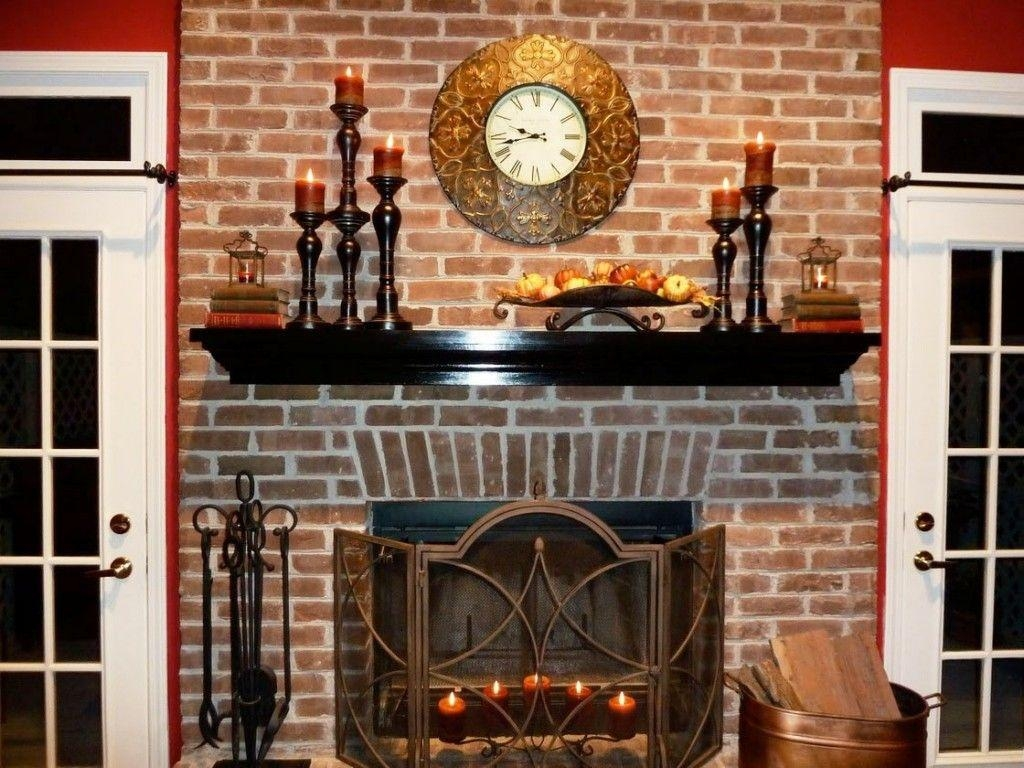 Decorations : Appealing Fireplace Mantel Decorating Ideas With With Regard To Fireplace Wall Art (View 13 of 20)