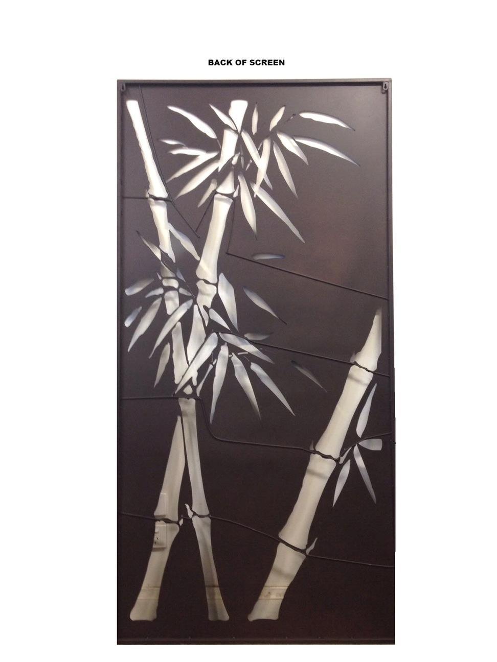 Decorative Metal Screens Wall Art Garden Bamboo Ebay ~ Loversiq Pertaining To Bamboo Metal Wall Art (View 6 of 20)