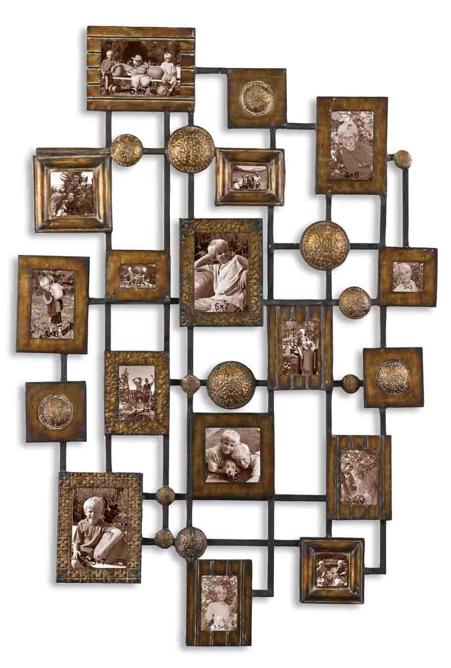 Decorative Metal Wall Art 2 | Roselawnlutheran Intended For Metal Framed Wall Art (View 11 of 20)