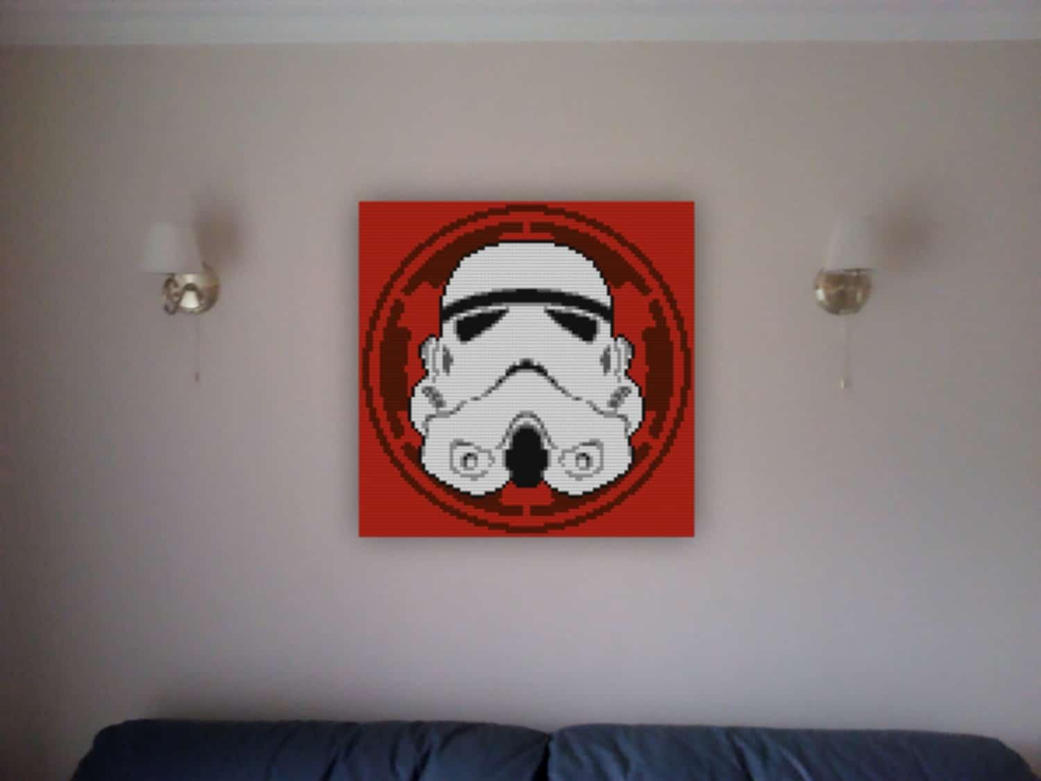 Decorative Star Wars Wall Lego Mosaics For Sci Fi Geeks Within Lego Star Wars Wall Art (View 13 of 20)