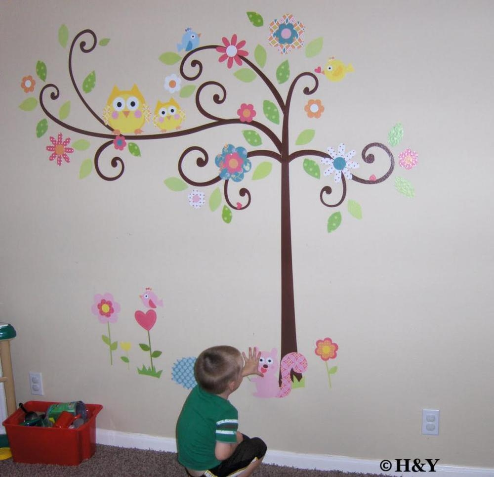 Decorative Wall Art Stickers Picture – More Detailed Picture About Inside Owl Wall Art Stickers (View 17 of 20)