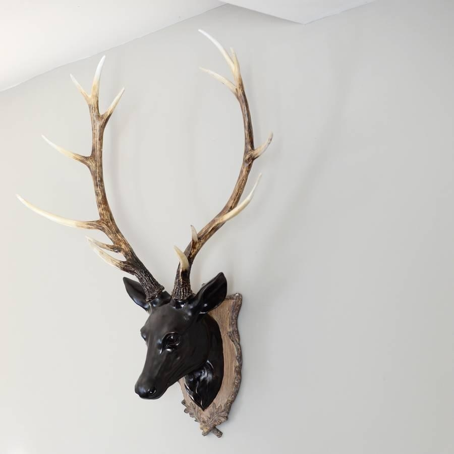 Deer Head Wall Decoration With Regard To Stags Head Wall Art (View 14 of 20)