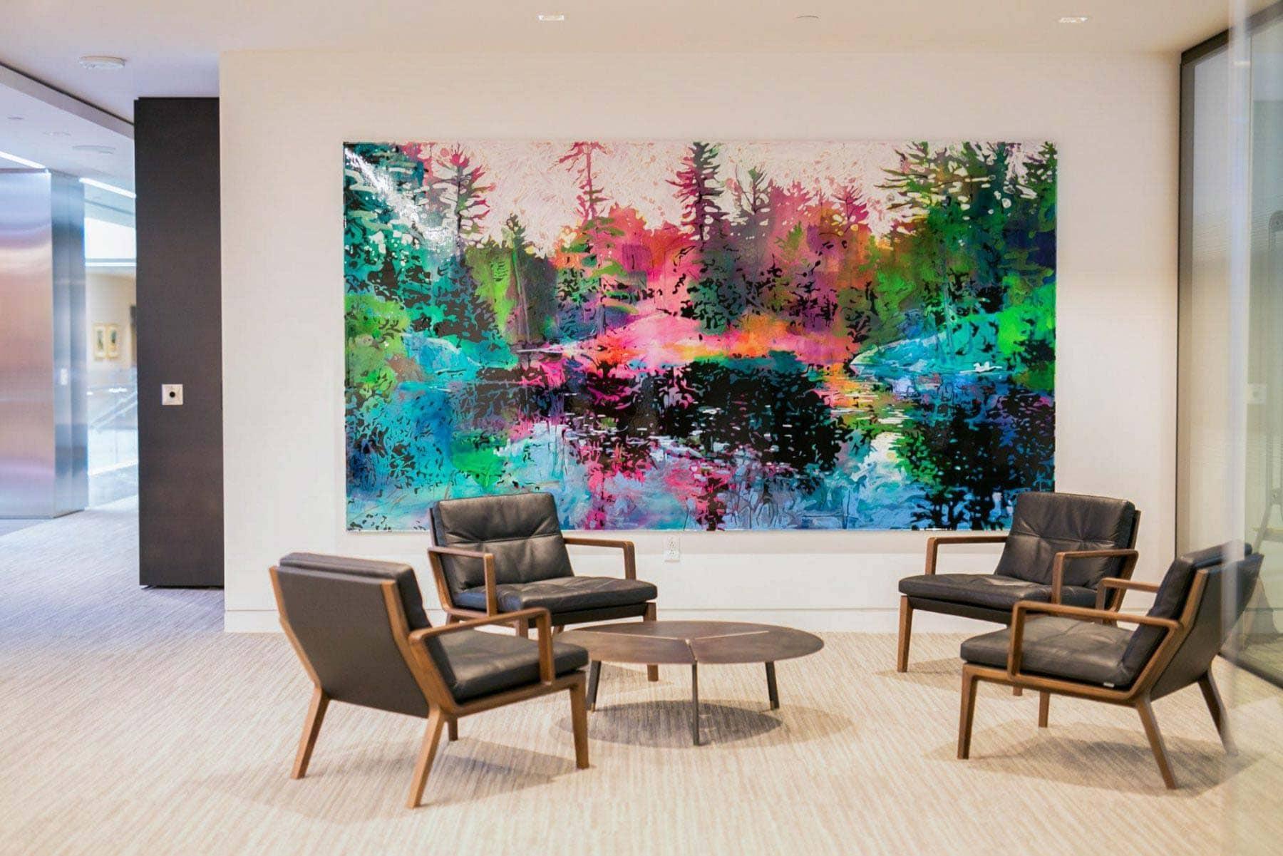 Deloitte National Headquarters | Corporate Fine Art Collection | Tap Regarding Corporate Wall Art (Image 9 of 20)