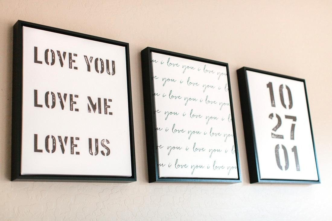 Design A Wall With Shutterfly   The Tomkat Studio Blog With Over The Bed Wall Art (View 14 of 20)