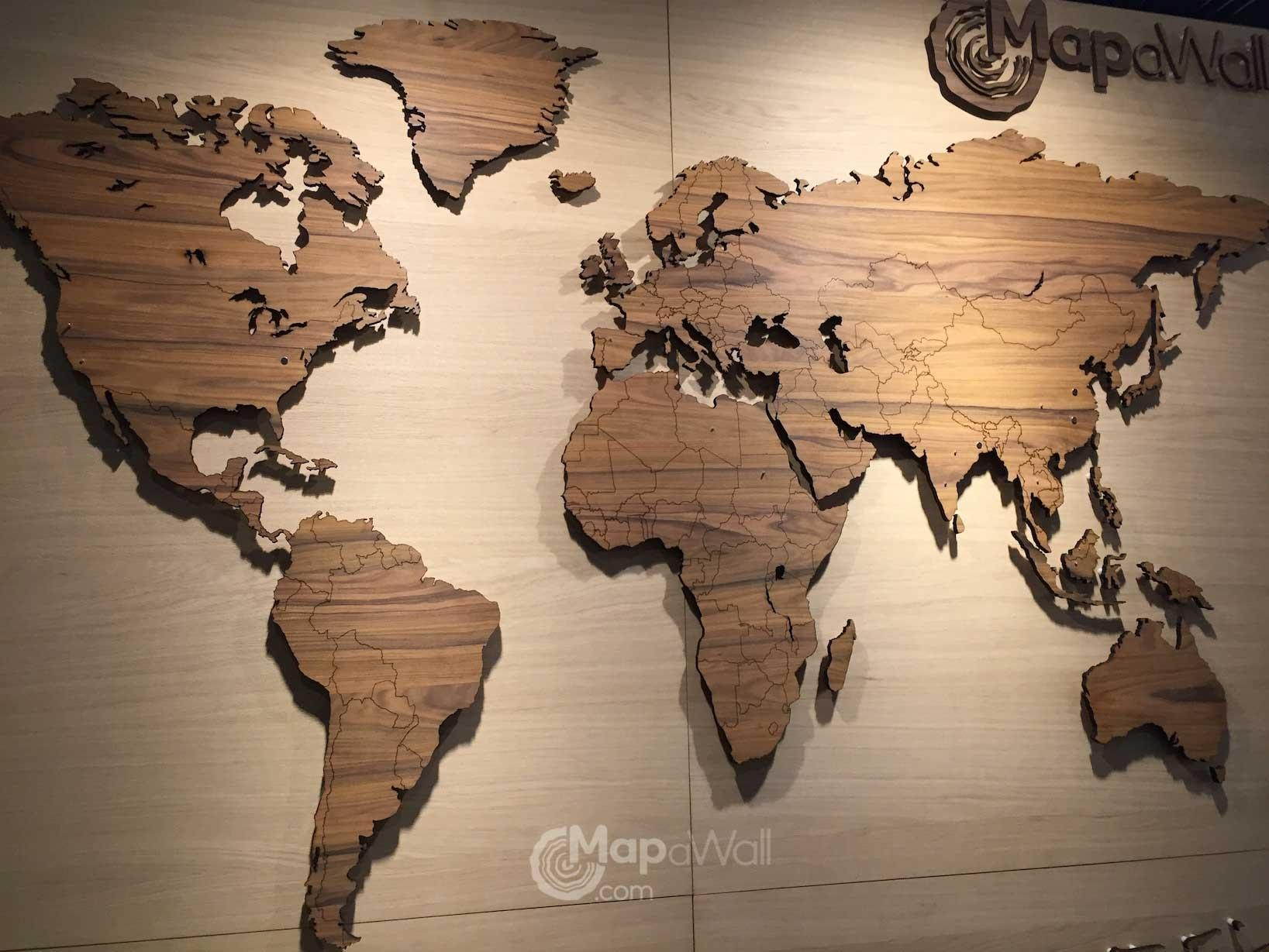 Diagram Free Collection World Map Oceans And Seas Quiz Millions Regarding Wooden World Map Wall Art (View 12 of 20)