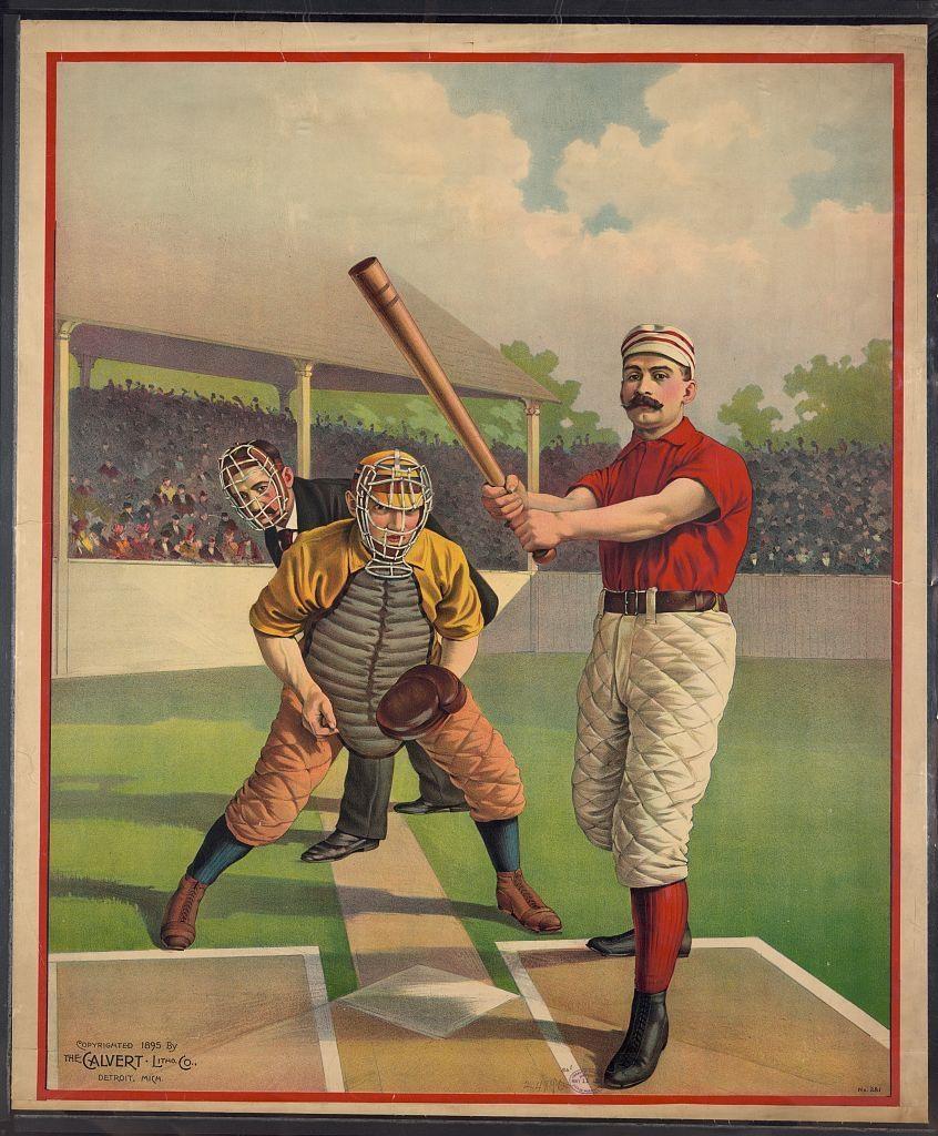 Diamond Visions: Baseball's Greatest Illustration Art, Part 3 Within Vintage Baseball Wall Art (Image 9 of 20)