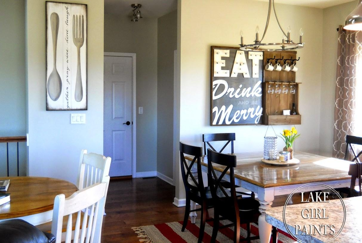 Dining Room : Exotic Fun Sayings For Dining Room Wall Art Likable Intended For Exotic Wall Art (Image 5 of 20)