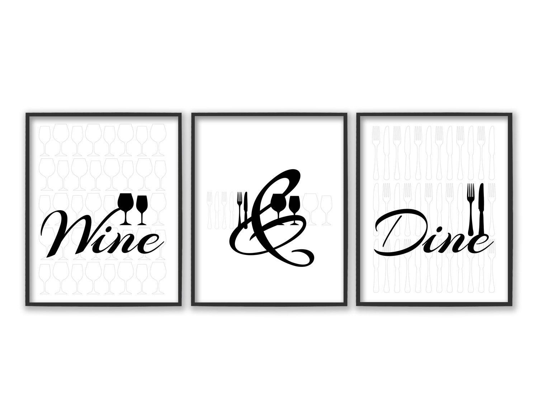Dining Room Wall Art Dining Room Art Kitchen Prints Regarding Kitchen And Dining Wall Art (Image 9 of 20)