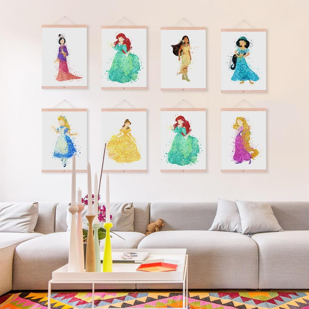 Disney Princess Picture Promotion Shop For Promotional Disney Intended For Disney Princess Framed Wall Art (Image 11 of 20)